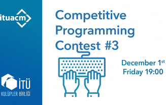 ITU ACM Competitive Contest #3